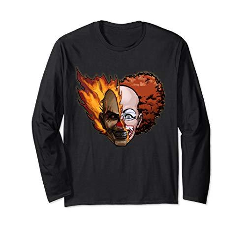 Scary Clown Outfit Ideas (Scary Clown Long Sleeve)