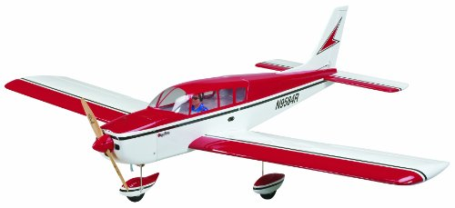 Great Planes Cherokee Radio Controlled Glow or Electric-Powered - 4 Ch Rc Trainer Airplane