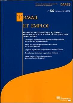 Travail et emploi n° 129- Janvier-Mars 2012