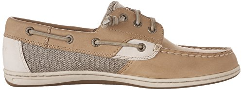 Sperry Songfish Oat Women's Top Chambray Boat Linen Sider Shoe wrHrqTt