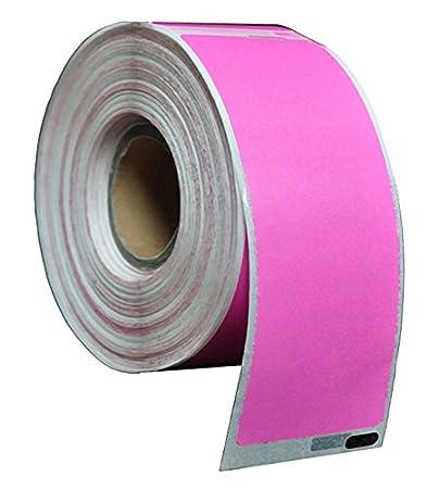 Compatibile per Dymo Seiko 99012 Rosa Termico Etichette di indirizzos Confezione da 1