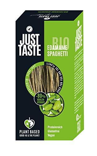 JUST TASTE – Edamame Spaghetti – Die neue BIO Gemüse Pasta – 6er Pack á 250g