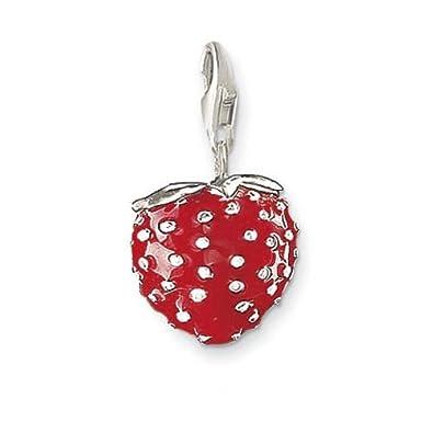 Thomas Sabo Strawberry Pendant Thomas sabo strawberry charm pendant amazon jewellery thomas sabo quotstrawberryquot charm pendant audiocablefo