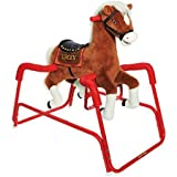 Rockin' Rider Lucky the Deluxe Talking Plush Animated Spring Horse, For Kids 15 months to 3 years
