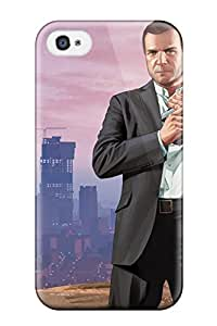 New Grand Theft Auto V Tpu Case Cover, Anti-scratch TQZIohY2939vPMNQ Phone Case For Iphone 4/4s