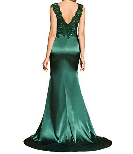 Spitze Brautmutterkleider Damen V Sexy Abendkleider Schwarz Duchrichtig Charmant Ausschnitt Etuikleider Applikation mit Partykleider tYqdvxw