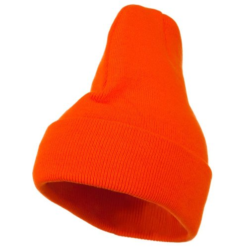 Sonette/Yupoong Thinsulate Cuffed Beanie - Safety Orange