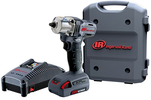 - Ingersoll Rand W5150-K12 Mid-Torque Impactool Kit with Charger, Li-Ion Battery and Case, 1/2