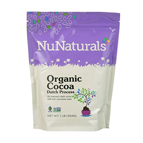Dutch Cocoa (NuNaturals - Dutch Processed Cocoa Powder - 1 Pound)