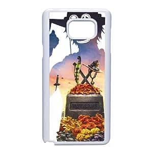 Portgas D Ace One Piece funda Samsung Galaxy Note 5 celular de la caja del teléfono funda B6Z6SRPGIP blanco