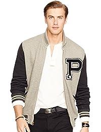 Ralph Lauren Mens Big and Tall Athletic Club Baseball Jacket
