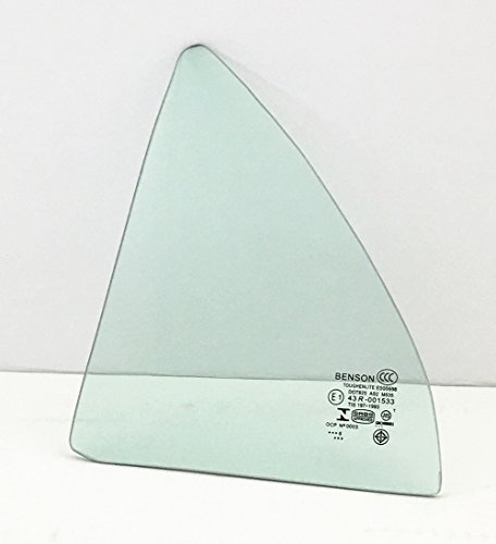 Rear Door Vent - 2003-2008 Toyota Corolla 4 Door Sedan Driver Side Left Rear Vent Glass Window
