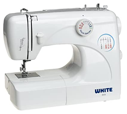 Amazon White 40 40Stitch Sewing Machine with Builtin Button Awesome White Sewing Machine Needles