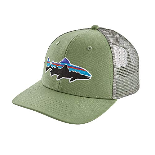 Patagonia Fitz Roy Trout Trucker Hat (Matcha Green)