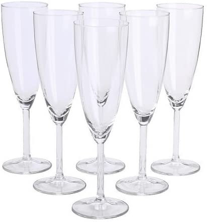 Ikea Svalka Champagne Flute Glass