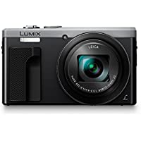 Panasonic LUMIX DMC-ZS60 Camera, 18 Megapixels, 1/2.3-inch Sensor, 4K Video, WiFi, Leica DC Lens 30X F3.3-6.4 Zoom (Silver) Basic Facts Review Image