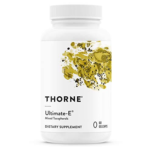 Thorne Research – Ultimate-E – Contains All of The Natural Forms of Vitamin E – 60 Gelcaps