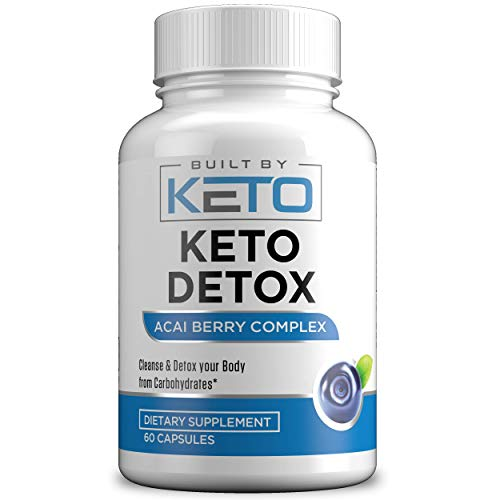 Keto Detox Cleanse - 14 Day Quick Cleanse to Support Detox, Weight Loss, Increased Energy Levels & Colon Cleanser, Safe & Effective for Men & Women, Natural Detox Pills - 60 Capsules