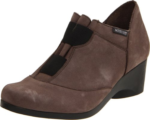 Mephisto Womens Turida Pump Bucksoft In Peltro