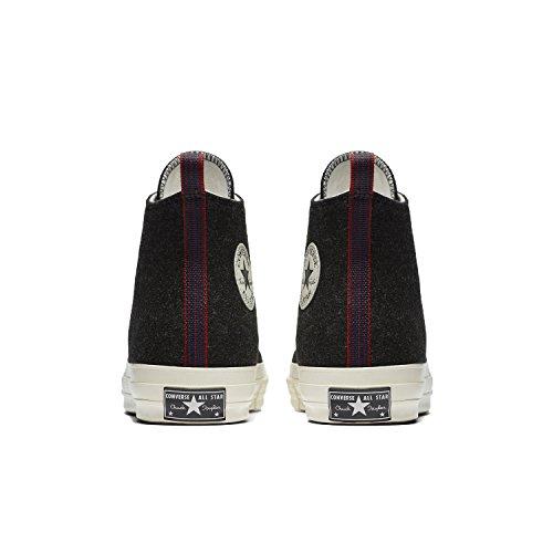 Converse Men's Chuck Taylor '70s Heritage Felt High Top Sneakers Black/Egret/Egret buy cheap choice q3vXB