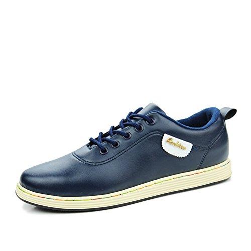 Cómodo y transpirable en verano zapatos/Calzado deportivo casual/Zapatos de los hombres salvajes Azul