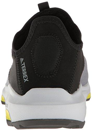 Adidas Outdoor Mens Terrex Climacool Voyager Slip-on Water Shoe Vista Grigio / Nero / Unità Lime