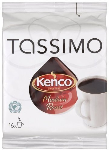 Kenco Classic Blend, 16-Count T-Discs for Tassimo Brewers (Pack of 3)