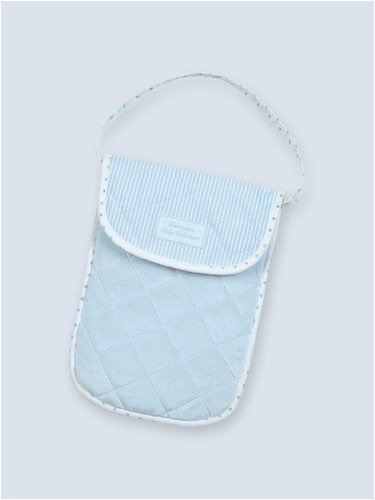 Bearington - Bradford Estate Collection - Blue Diaper & Wipe Holder (Bearington Baby Diaper Bag)