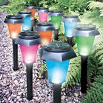 Cofystore - Lumières/Lampes de jardin multicolore - changent de ...