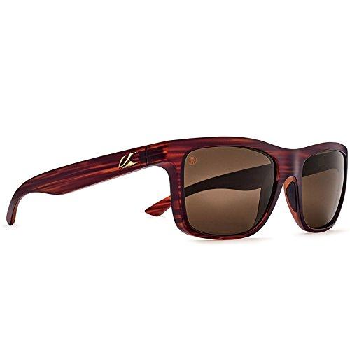 Outdoor Sunglasses Adult (Kaenon Adult Clarke Polarized Sunglasses, Hazelnut / Brown 12, One Size)