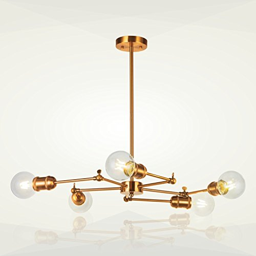 5 Arm Pendant Lights in US - 4
