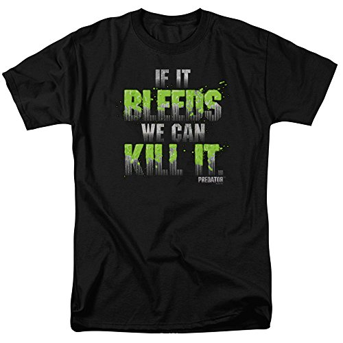 Official Predator If It Bleeds We Can Kill It T-shirt for Men