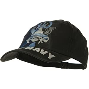 Eagle Crest US Navy Pigment Dyed Washed Cap