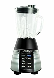 Oster 6-Cup Glass Jar 7-Speed Blender, Stainless Steel