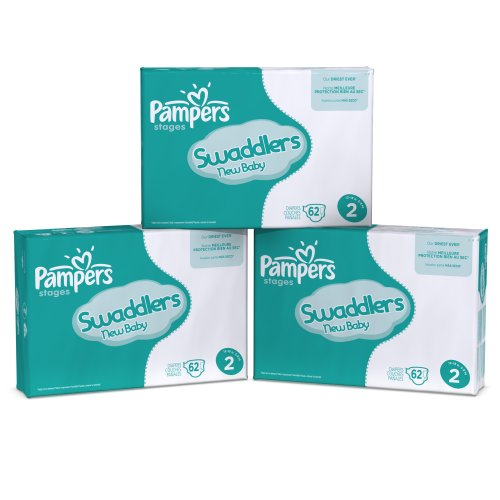 Pampers Swaddlers Diapers Ebulk Pack Size 2, 248 Count by Pampers