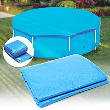 Amazon.com: 10ft 12ft Diameter Round Swimming Pool Cover Roller ...