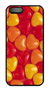 Cute Hearts Custom iPhone 5s/5 Case Cover Polycarbonate Black