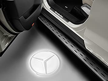 Original Mercedes Benz Led Projektor Mercedes Stern Transparent Auto