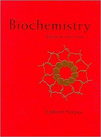 Biochemistry 4th Edition 9780716720096 Medicine Health Science