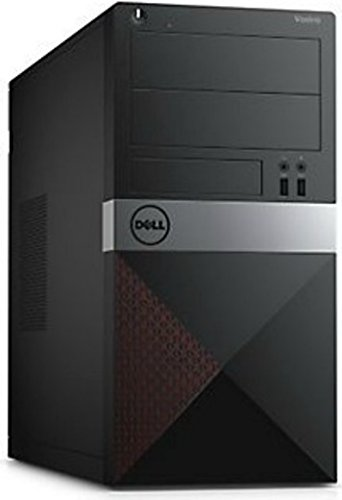2016 Dell Vostro Tower Business Flagship Desktop (AMD Dual Core CPU Up to 4.0GHz, Radeon R3 Graphics, 4GB RAM, 500GB HDD, DVDRW, USB 3.0, HDMI, Windows 7 Professional)