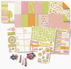 Deja Views - Baby Collection - 8 x 8 Album Kit