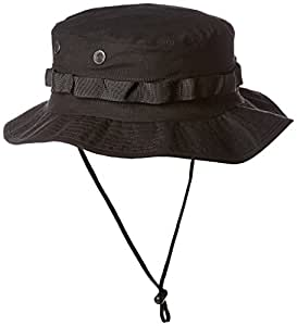 TRU-SPEC Boonie, Black, Size 7