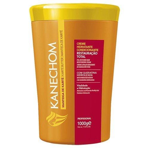 Kanechom Hair Treatment Shea Butter 35.2oz   Creme de Tratamento com Manteiga de Karite 1kg