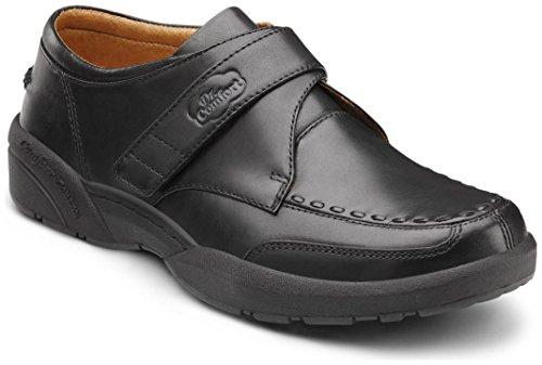 Dr. Comfort Frank Men's Therapeutic Diabetic Extra Depth Dress Shoe: Black 7 Wide (E/2E) Velcro by Dr. Comfort (Image #7)'