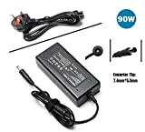AC Adapter Laptop Charger for HP Pavilion G4 G6 G7 M6 DM4 DV4 DV5 DV6 DV7 G60 G61 G72; EliteBook 2540p 2560p 2570p 2730p 2740p Compaq CQ57 613152-001 519329-003 463955-001Power supply cord