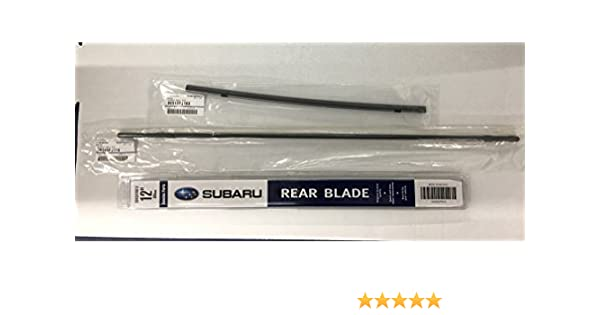 2013-2017 Subaru Crosstrek Front Windshield Wiper Blade Refill Set Genuine XV