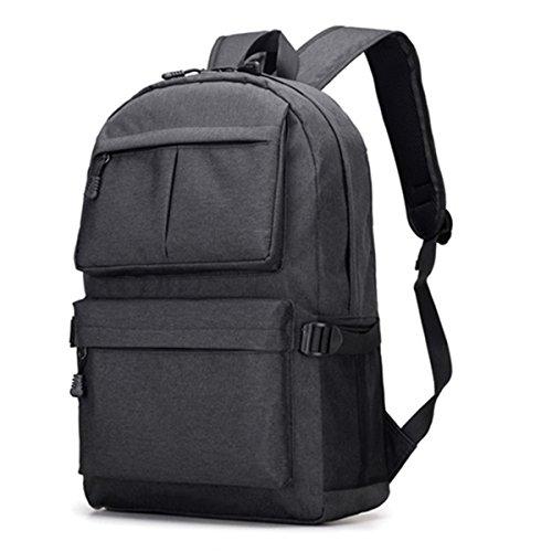 MIJORA-Men Women Anti-Theft Backpack USB Charging Travel School Bag Laptop Rucksack(color:#6 ()