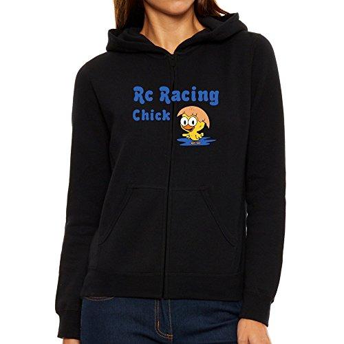 da con Felpa Eddany chick Racing Rc donna cappuccio w18qSTYq