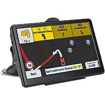 [Patrocinado] GPS Navigation System, LONGRUF 7-inch 8GB-256MB Satellite Navigator, top-Loaded US and North America Latest 2019 map Lifetime Free Update
