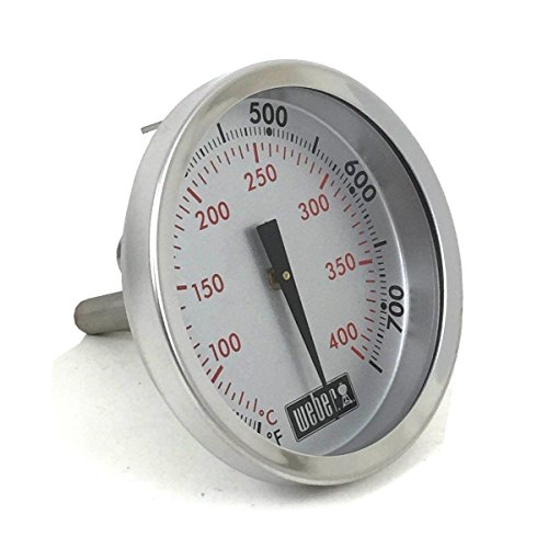 (Genuine Weber Gas Grill Replacement Thermometer 67731)